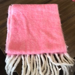 Pink Anthropologie Scarf